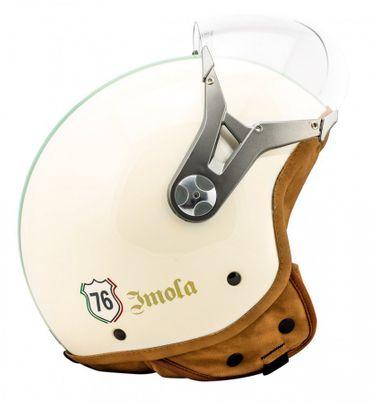 SOXON SP-325 Imola - Jethelm ITALY Jet Roller Vespa Helm Motorradhelm – Bild 4