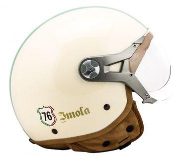 SOXON SP-325 Imola - Jethelm ITALY Jet Roller Vespa Helm Motorradhelm – Bild 5