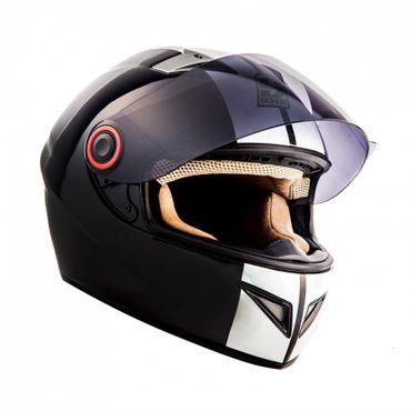 Soxon ST-666 Deluxe Snow Integralhelm Motorradhelm Motorrad Helm – Bild 2
