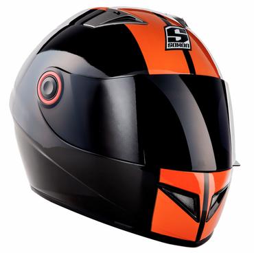 Soxon ST-666 Deluxe Night Integralhelm Motorradhelm Motorrad Helm