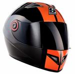 Soxon ST-666 Deluxe Night Integralhelm Motorradhelm Motorrad Helm 001