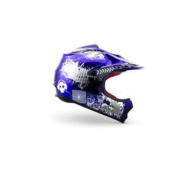 ARMOR AKC-49 Blue Cross Motorradhelm Kinder Kinderhelm Helm Crosshelm – Bild 3