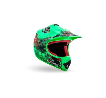 ARMOR AKC-49 Limited green Cross Motorradhelm Kinder Kinderhelm Crosshelm – Bild 1