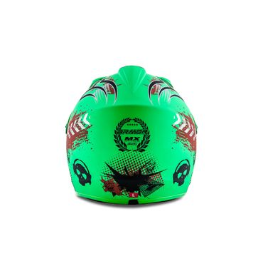 ARMOR AKC-49 Limited green Cross Motorradhelm Kinder Kinderhelm Crosshelm – Bild 4