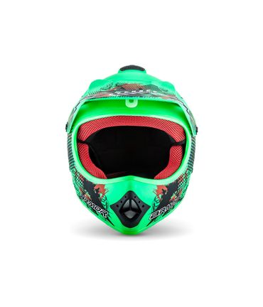 ARMOR AKC-49 Limited green Cross Motorradhelm Kinder Kinderhelm Crosshelm – Bild 2