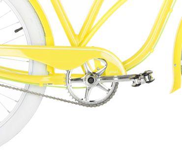 26 Zoll Damen Beach Cruiser Fahrrad Embassy LEMON – Bild 13