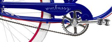 26 Zoll Damen Beach Cruiser Fahrrad Embassy Marina – Bild 7