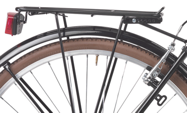 28 Zoll Herren City Trekking Fahrrad 6 Gang Coppi Retro – Bild 5