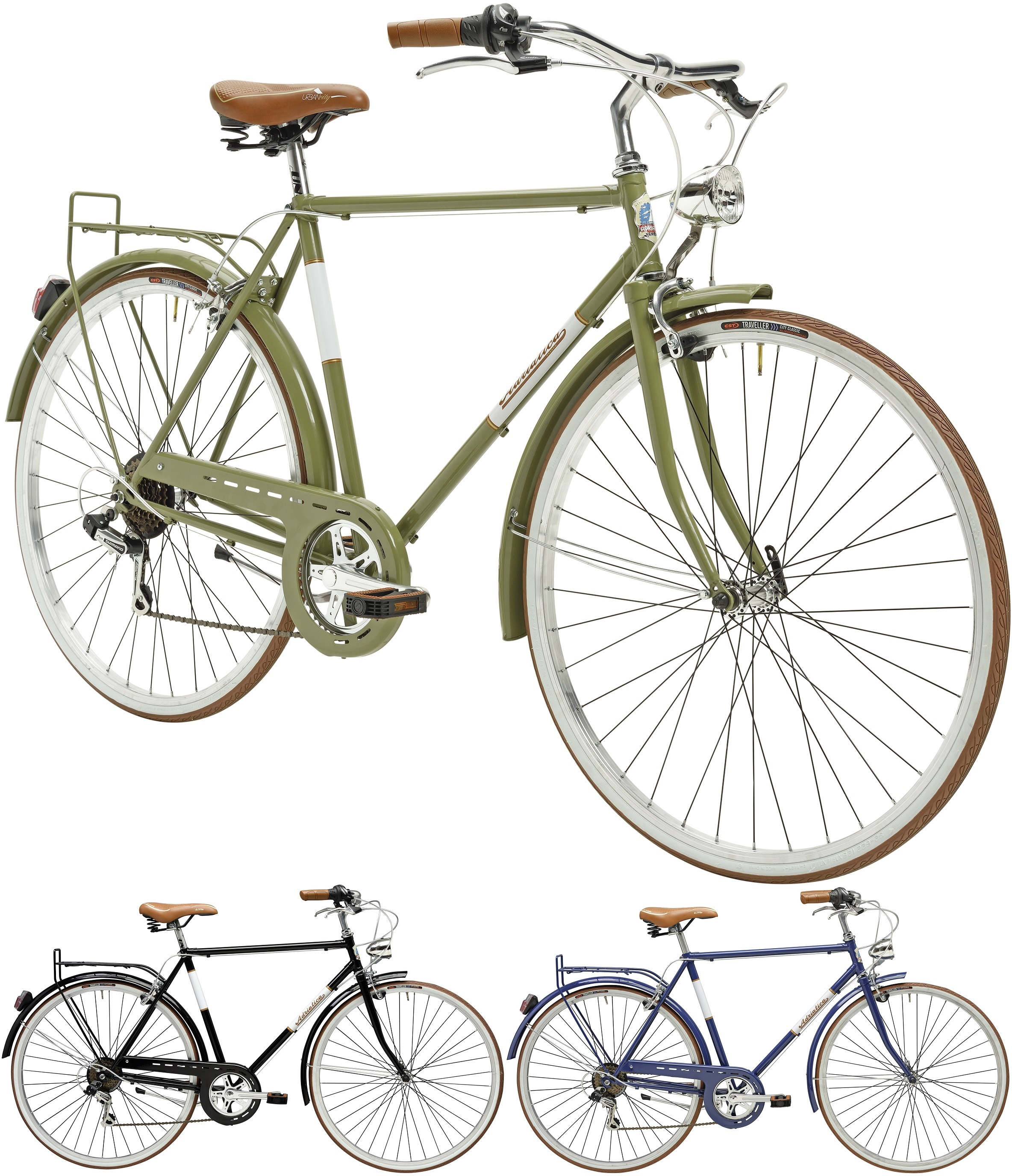 28 zoll herren city fahrrad adriatica condorino 6 gang. Black Bedroom Furniture Sets. Home Design Ideas