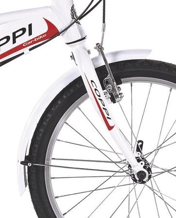 20 Zoll Klappfahrrad 6 Gang Coppi Car Bike – Bild 4