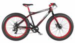 26 Zoll Fat Tire Mountainbike 7 Gang Aluminium Coppi Grizzly 001