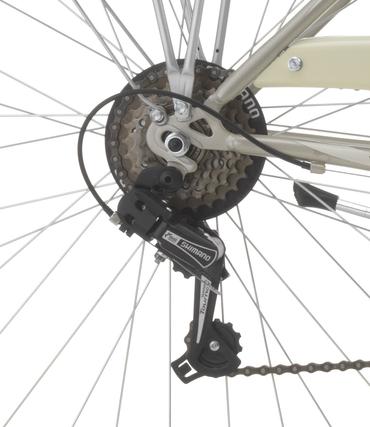 28 Zoll Damen City Fahrrad Cinzia Charleston 6 Gang – Bild 9