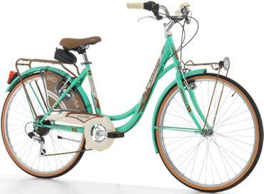 26 Zoll Cinzia Decoville Damen City Fahrrad 6 Gang – Bild 2