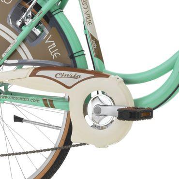 26 Zoll Cinzia Decoville Damen City Fahrrad 6 Gang – Bild 11