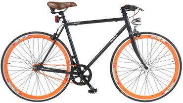 28 Zoll Gloria Magenta Fixie Fahrrad – Bild 1