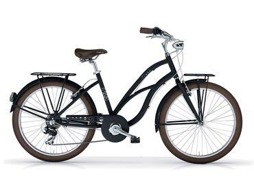 "26"" Zoll MBM Maui Beachcruiser Cruiser Fahrrad Damenrad 7 Gang Shimano"