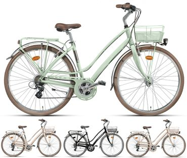28 Zoll Damen City Fahrrad 21 Gang Montana Lunapiena – Bild 1