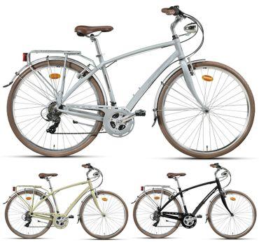 28 Zoll Herren City Fahrrad 21 Gang Montana Lunapiena – Bild 1