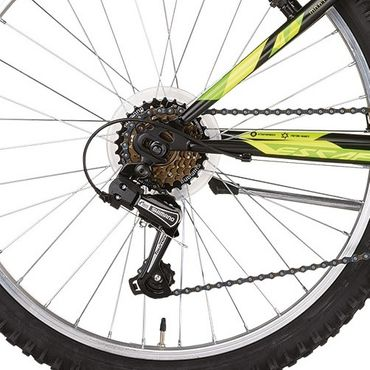 24 Zoll Mountainbike Montana Escape 18 Gang Starrgabel – Bild 7