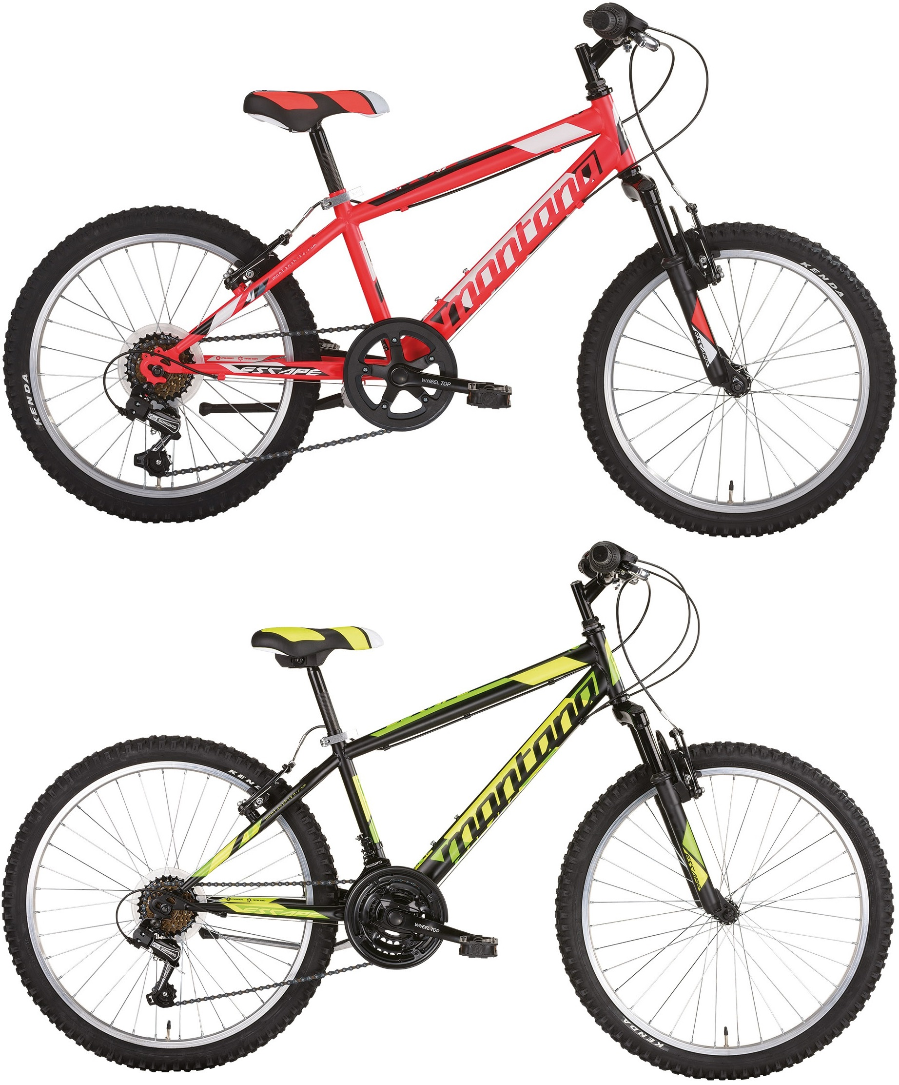 20 zoll mountainbike montana escape 6 gang starrgabel. Black Bedroom Furniture Sets. Home Design Ideas