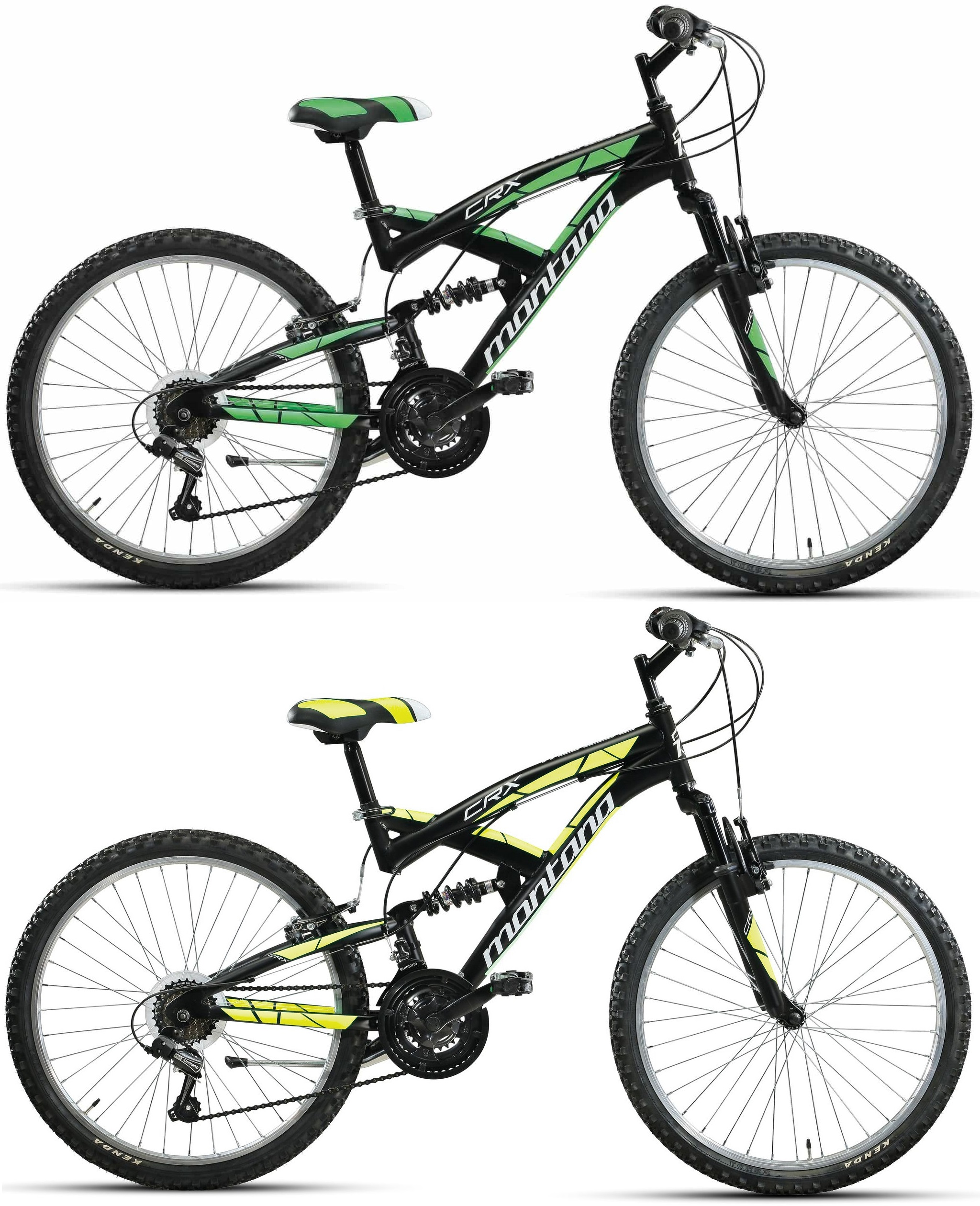 20 zoll fully mountainbike montana crx 18 gang fahrr der. Black Bedroom Furniture Sets. Home Design Ideas