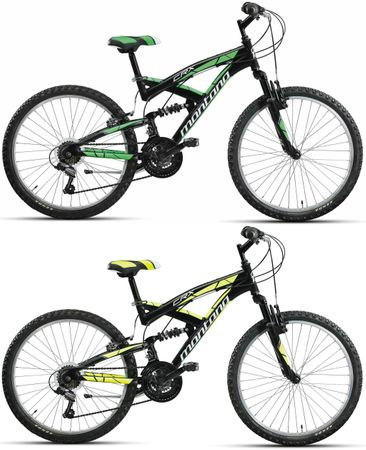 20 Zoll Fully Mountainbike 18 Gang Montana CRX – Bild 1
