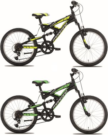 20 Zoll Fully Mountainbike Montana CRX 6 Gang – Bild 1