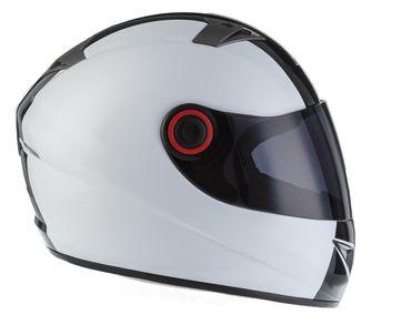 SOXON ST-666 Deluxe White Black Integralhelm Helm Motorradhelm XS S M L XL – Bild 5