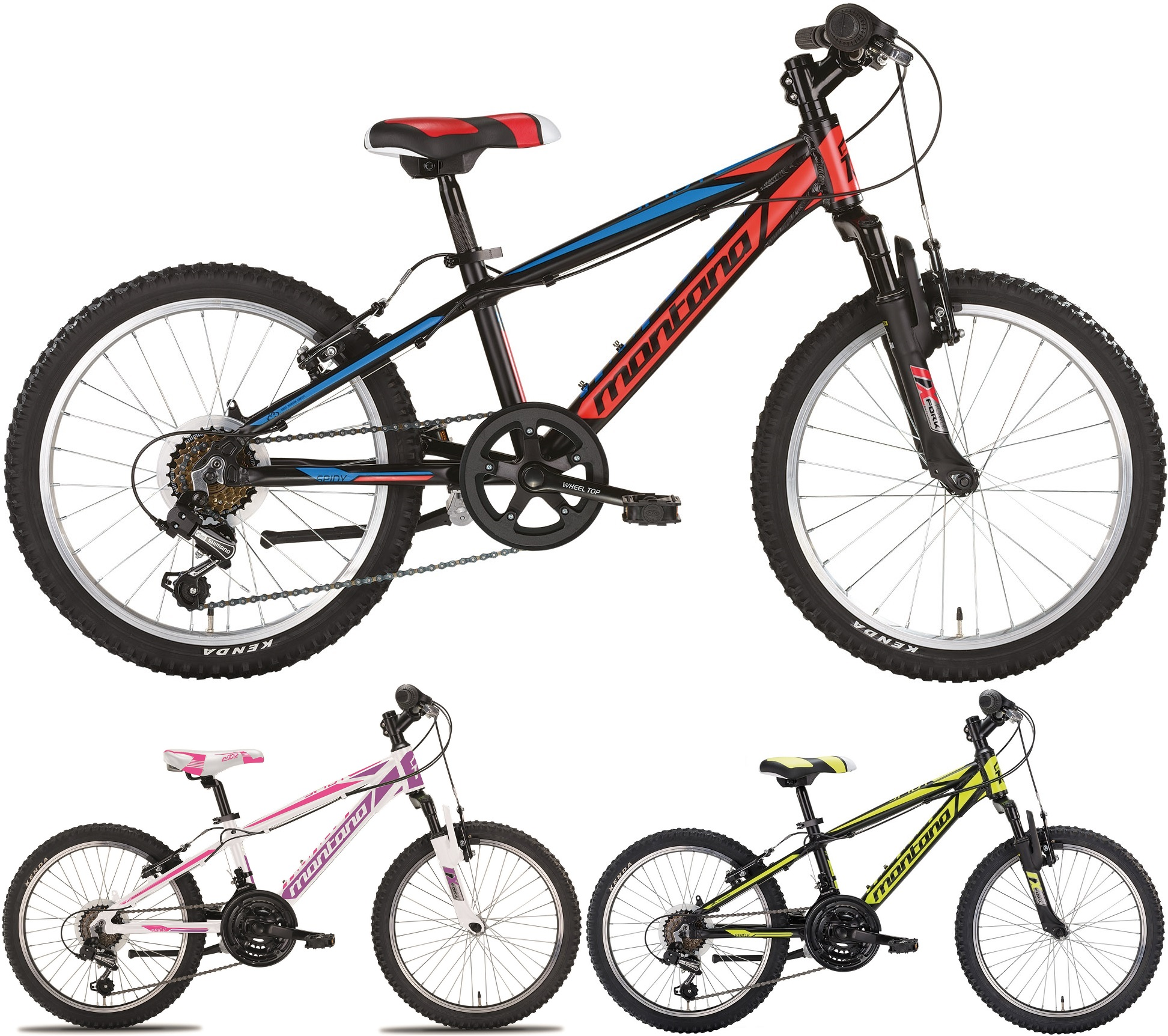 20 zoll mountainbike montana spidy 6 gang fahrr der. Black Bedroom Furniture Sets. Home Design Ideas