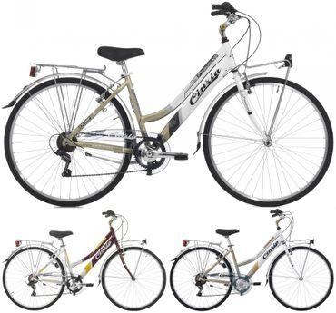 28 Zoll Damen Trekking Fahrrad Cinzia Promenade 6 Gang