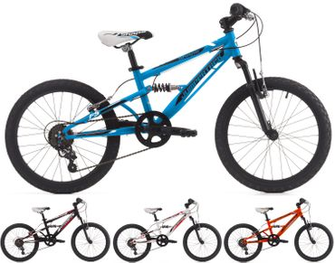 20 VTT Enfant Cinzia Shape Shimano 6 Vitesses Velo de Montagne Double Suspension
