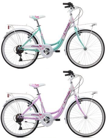 24 Zoll Cinzia Liberty Girl Mädchen Fahrrad 6 Gang – Bild 1