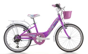 20 Zoll Mädchen Fahrrad Cinzia Candy 6 Gang – Bild 4
