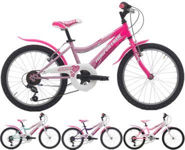 20 Zoll Mädchen Fahrrad Cinzia Ariel 6 Gang – Bild 1
