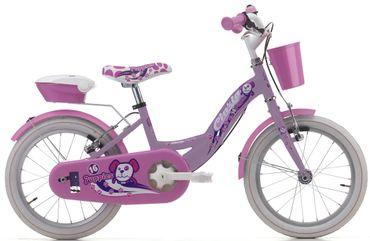 16 Zoll Mädchen Fahrrad Cinzia Puppies – Bild 2