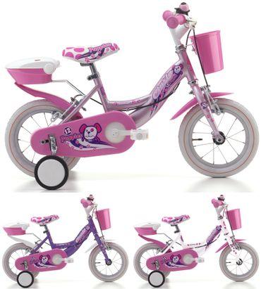 12 Zoll Cinzia Puppies Girl Mädchen Fahrrad – Bild 1