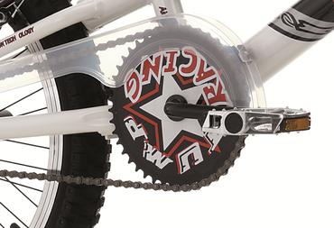 20 BMX Cinzia Rock Velo Freestyle Velo Enfant Rotor 360° Aluminium Bleu Vert – Bild 9