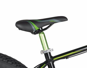 26 Zoll Fat Tire Mountainbike 24 Gang Aluminium Coppi King – Bild 3