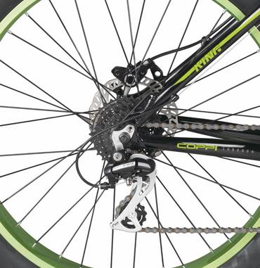 26 Zoll Fat Tire Mountainbike 24 Gang Aluminium Coppi King – Bild 6