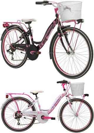 24 Zoll Mädchen Fahrrad 6 Gang Adriatica CTB – Bild 1