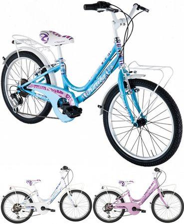 20 Zoll Mädchen Fahrrad Alpina Kariba 6-Gang – Bild 1