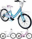 20 Zoll Mädchen Fahrrad Alpina Kariba 6 Gang 001