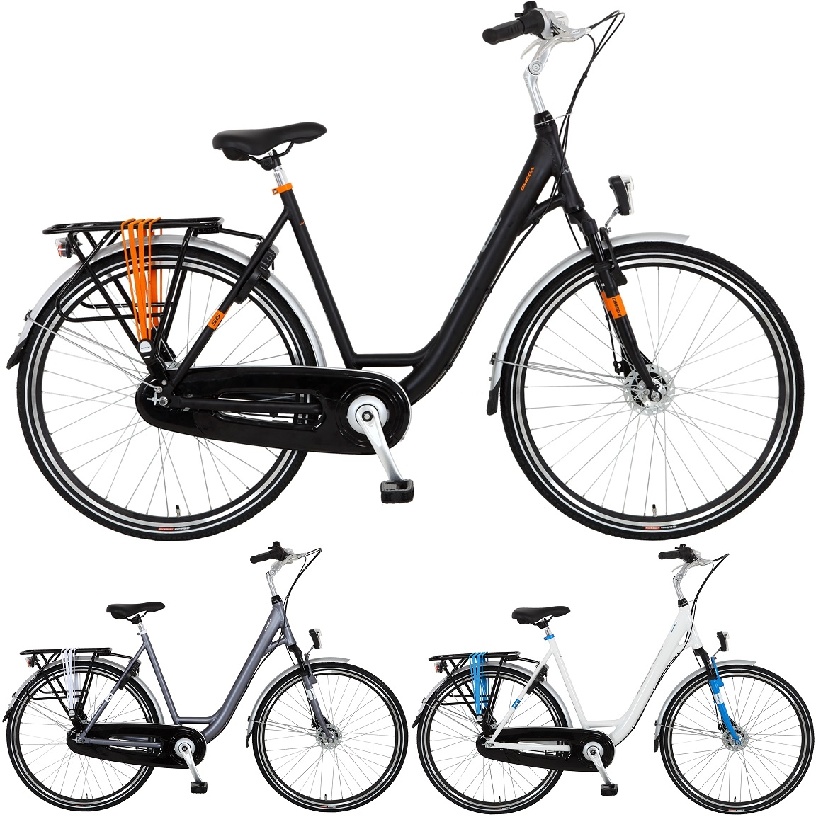 28 zoll damen city fahrrad 7 gang hoopfietsen omega. Black Bedroom Furniture Sets. Home Design Ideas