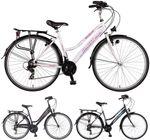 28 Zoll Damen Fahrrad 21 Gang Hoopfietsen Velo City  001