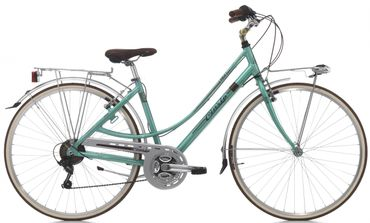 28 Zoll Damen City Fahrrad Cinzia Perla 21 Gang – Bild 4