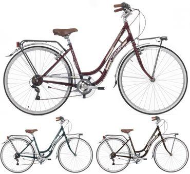 28 Zoll Damen City Fahrrad Cinzia Beauty 6 Gang – Bild 1