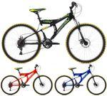26 Zoll Cinzia Arrow Fully Mountainbike 21 Gang 001
