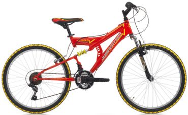 26 Zoll Cinzia Arrow Fully Mountainbike 18 Gang – Bild 2