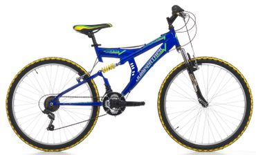 26 Zoll Cinzia Arrow Fully Mountainbike 18 Gang – Bild 4