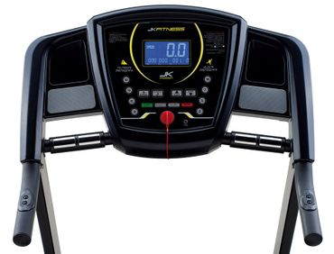 JKFitness Genius 115 Laufband mit Bodyfat-Messung, MP3 Player, Polar Receiver – Bild 2